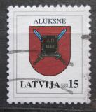 Poštovní známka Lotyšsko 2005 Znak Aluksne Mi# 628