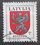 Poštovní známka Lotyšsko 1994 Znak Vidzeme Mi# 373 A I