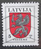 Poštovní známka Lotyšsko 1996 Znak Vidzeme Mi# 373 A II