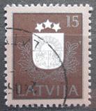 Poštovní známka Lotyšsko 1991 Státní znak Mi# 307