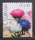 Poštovní známka Lotyšsko 2014 Astry Mi# 887 I Kat 3€