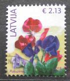 Poštovní známka Lotyšsko 2018 Hrachor vonný Mi# 933 III Kat 4.90€