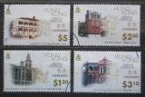 Poštovní známky Hongkong 1996 Architektura Mi# 780-83