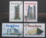 Poštovní známky Hongkong 1985 Moderní architektura Mi# 474-77 Kat 14.50€