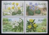 Poštovní známky Alandy, Finsko 1997 Jarní květiny Mi# 120-23