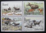 Poštovní známky Poštovní známky Alandy, Finsko 2000 Los evropský Mi# 171-74