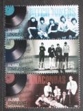 Poštovní známky Alandy, Finsko 2014 Populární hudba Mi# 396-98