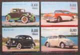 Poštovní známky Alandy, Finsko 2005 Klasické automobily Mi# 247-50