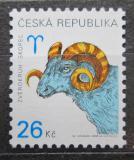 Poštovní známka Česká republika 2003 Znamení zvěrokruhu - beran Mi# 349