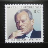 Poštovní známka Německo 1993 Willy Brandt, politik Mi# 1706
