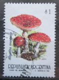 Poštovní známka Argentina 1993 Muchomůrka červená Mi# 2183