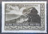 Poštovní známka Argentina 1951 Železnice Mi# 585