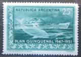 Poštovní známka Argentina 1951 Dopravní loď Mi# 586