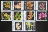 Poštovní známky Venezuela 1995 Orchideje TOP SET Mi# 2885-94