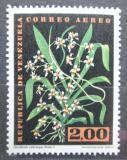 Poštovní známka Venezuela 1962 Oncidium zebrinum, orchidej Mi# 1450