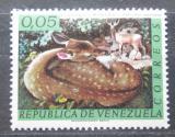 Poštovní známka Venezuela 1963 Jelenec běloocasý Mi# 1481