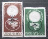 Poštovní známky Venezuela 1962 Boj proti malárii Mi# 1479-80