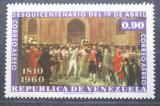 Poštovní známka Venezuela 1960 Revoluce, 150. výročí Mi# 1357
