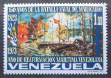 Poštovní známka Venezuela 1973 Námořní bitva o Maracaibo Mi# 1939