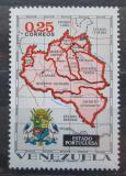 Poštovní známka Venezuela 1971 Mapa Mi# 1884