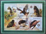 Poštovní známky Guinea-Bissau 2001 Dravci Mi# 1446-51 Kat 10€