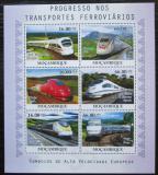 Poštovní známky Mosambik 2010 Moderní lokomotivy Mi# 4186-91 Kat 14€