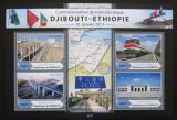 Poštovní známky Džibutsko 2017 Železnice Mi# 1683-86 Kat 10€