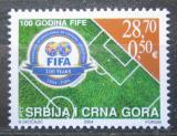 Poštovní známka Srbsko 2004 FIFA, 100. výročí Mi# 3203
