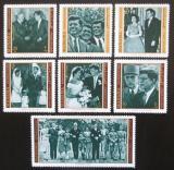 Poštovní známky Manáma 1971 John F. Kennedy Mi# 800-06 Kat 6.50€