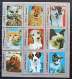 Poštovní známky Manáma 1972 Kočky a psi Mi# 944-H944 Kat 9€