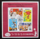 Poštovní známky Keňa 1976 Rozvoj telekomunikace Mi# Block 1