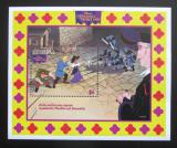 Poštovní známka Svatý Vincenc 1996 Disney, Chrám Matky Boží Mi# Block 395