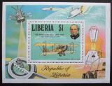 Poštovní známka Libérie 1979 Rowland Hill, letadlo Mi# Block 93