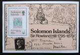 Poštovní známka Šalamounovy ostrovy 1979 Rowland Hill Mi# Block 6