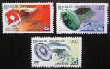 Poštovní známky Indonésie 1997 Drahokamy Mi# 1695-97