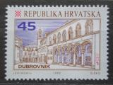 Poštovní známka Chorvatsko 1992 Palác v Dubrovníku Mi# 195