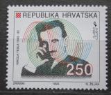 Poštovní známka Chorvatsko 1993 Nikola Tesla Mi# 224