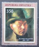Poštovní známka Chorvatsko 1993 Zlatko Šulentič, malíř Mi# 230