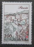 Poštovní známka Chorvatsko 1993 Pohled na Pazin Mi# 232