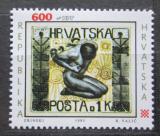 Poštovní známka Chorvatsko 1993 Den známek Mi# 253