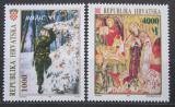 Poštovní známky Chorvatsko 1993 Vánoce Mi# 261-62
