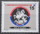 Poštovní známka Chorvatsko 1992 Svatý Jiří, daňová Mi# 25
