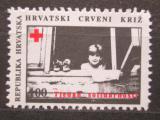 Poštovní známka Chorvatsko 1993 Červený kříž, daňová Mi# 27