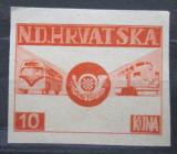 Poštovní známka Chorvatsko 1949 UPU, exilová Mi# N/N