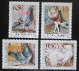 Poštovní známky Jugoslávie 1990 Holubi Mi# 2425-28 Kat 8€