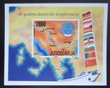Poštovní známka Jugoslávie 1988 Dunajská konference Mi# Block 33