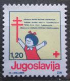 Poštovní známka Jugoslávie 1991 Červený kříž, daňová Mi# 206