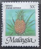 Poštovní známka Malajsie 1986 Ananas Mi# 330 I XA