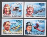 Poštovní známky Burundi 2011 Historie letectví neperf. Mi# 2210-13 B