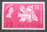 Poštovní známka Gambie 1963 Boj proti hladu Mi# 167